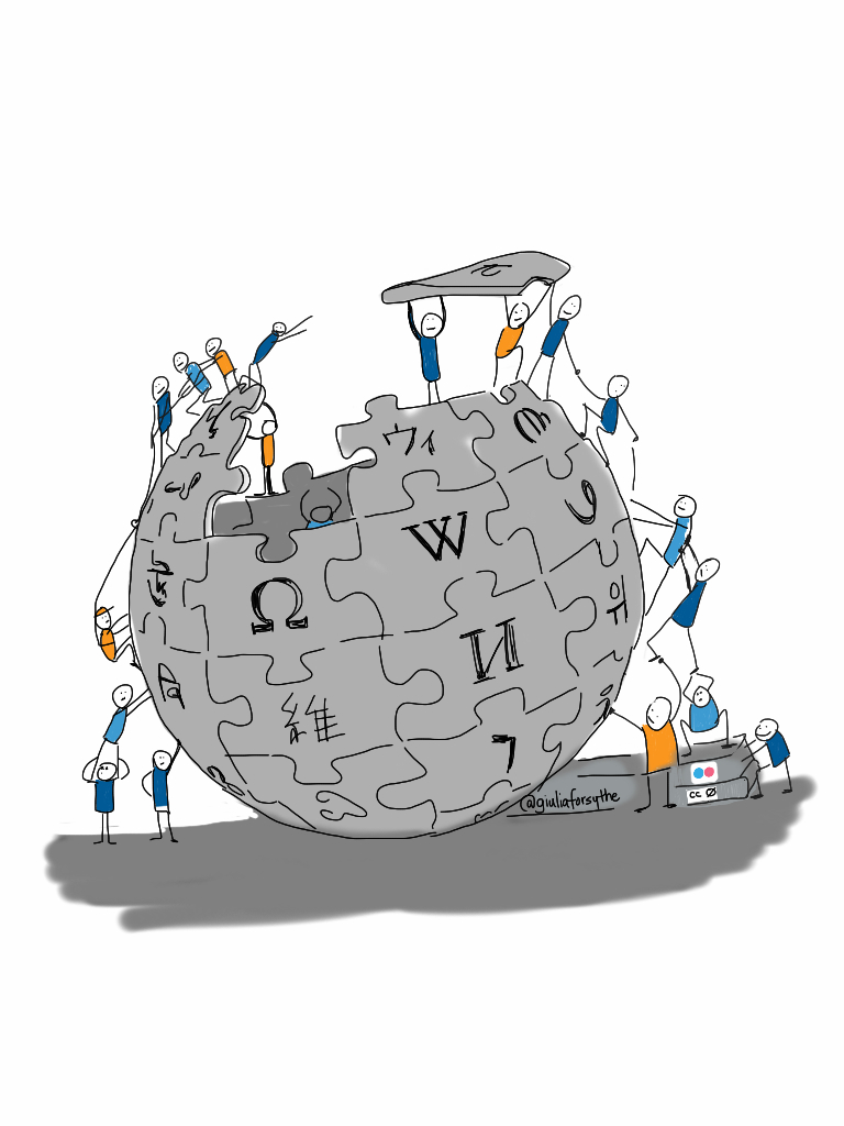 """Wikipedia"" by giulia.forsythe is marked with CC0 1.0"